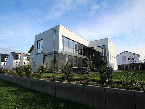 Neubau - Architektur kubus ...