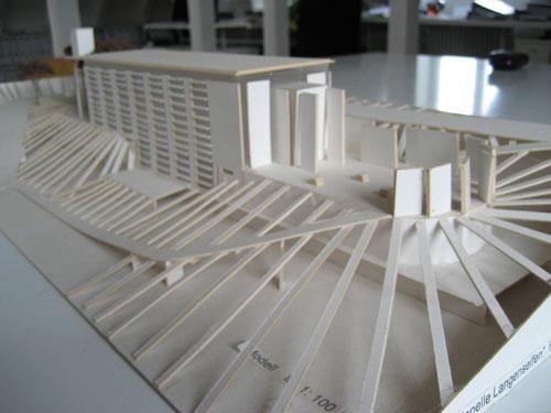 Modellbau 3 - Architektur kubus ...
